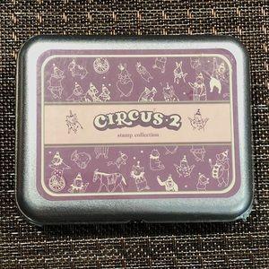 Other - DIY Circus Animals Bujo Tin Stamp Kit 21 pcs